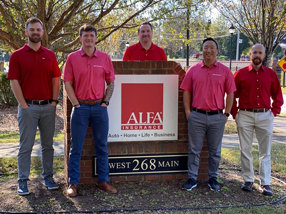 Buford, Georgia, Office Staff | Aaron Ackermann Agency | Alfa Insurance