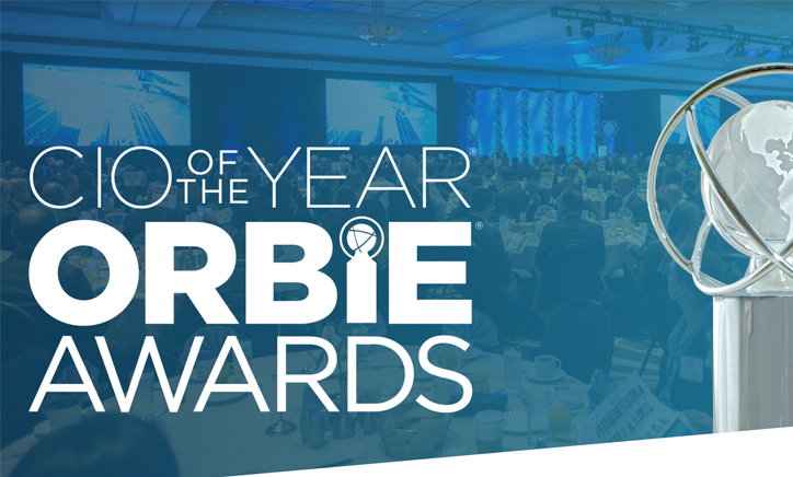 Orbie Awards Logo and Image of Trophy