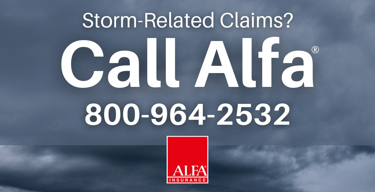 Alfa's ready to respond to storm-related claims