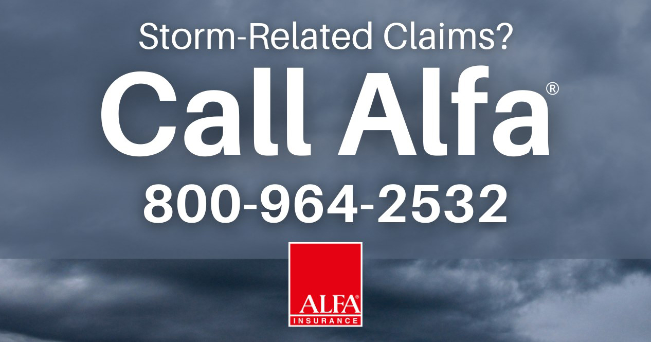 Alfa Insurance Responding To Hurricane Zeta Damage Claims Alfainsurance Com