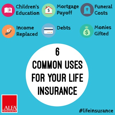 6 Common Uses For Your Life Insurance